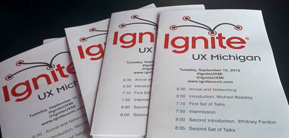 Ignite UX Michigan programs