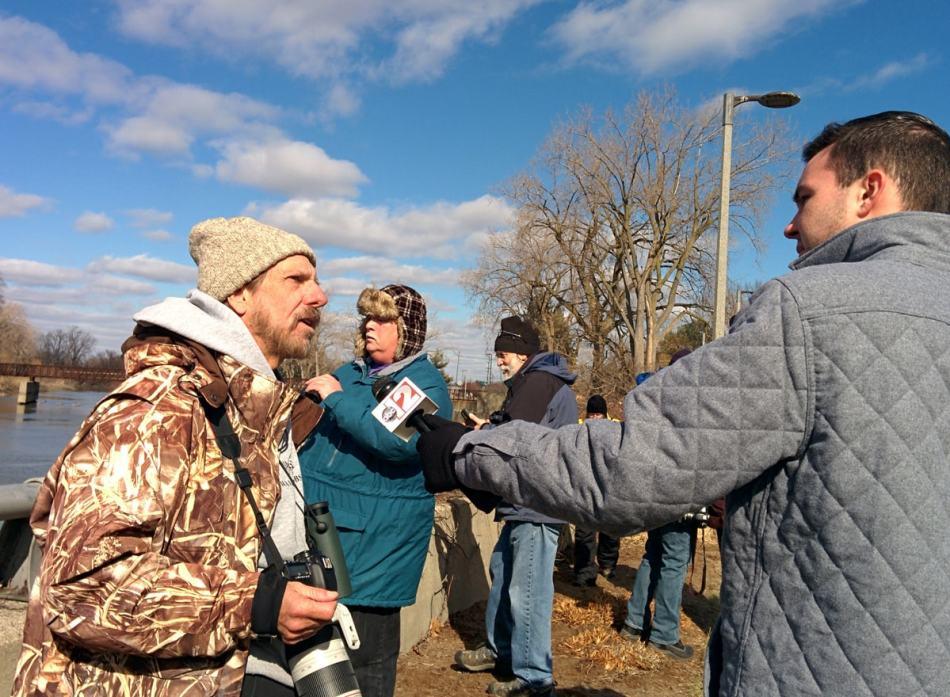 Kenn Kaufman interview with Flint ABC TV 12 news station