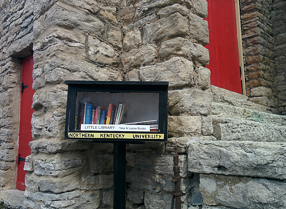 Photo Of The Week Little Library At St Pauls Episcopal Church