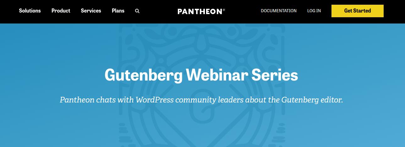 Gutenberg Webinar Series