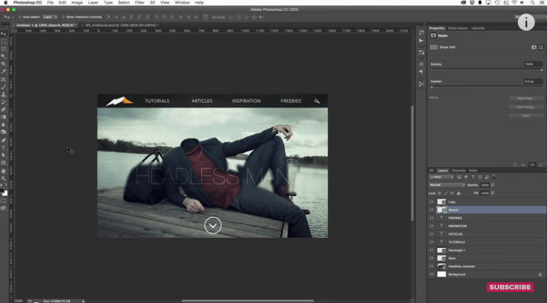 5 New Features in Photoshop CC 2015 [Video]