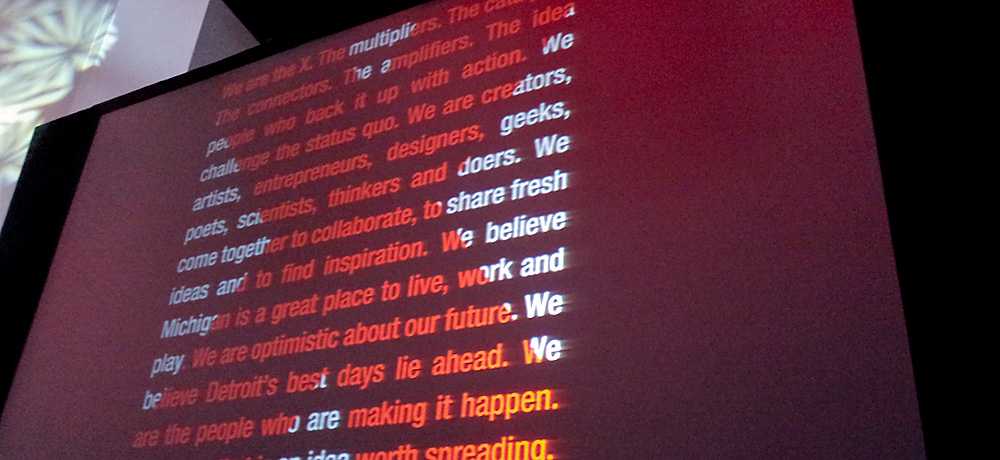 TEDxDetroit We are the X