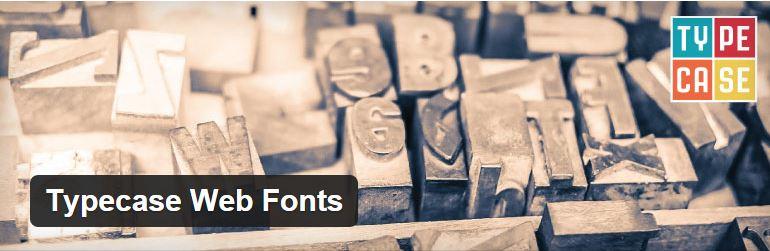 Typecase Web Fonts plugin
