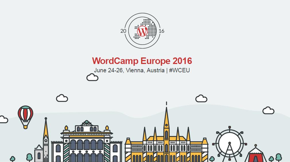 WordCamp Europe 2016: Jun 24-26 in Vienna, Austria