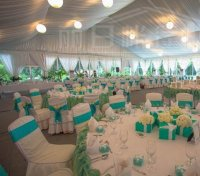Decorated Tents For Wedding Receptions & Wedding Reception