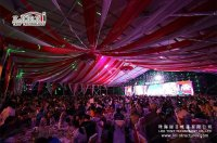 50 x 50 Wedding Tent | Large Wedding Marquee - Liri Tent ...