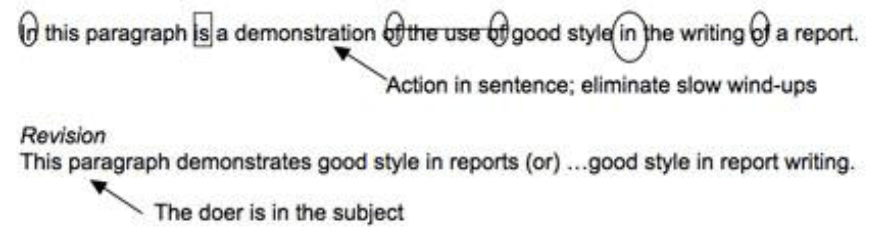Revising Sentences Using The Paramedic Method