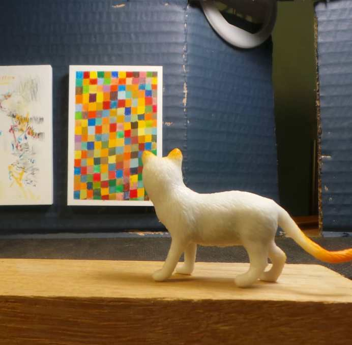 Philip Ryland at the Tiny Cat Gallery