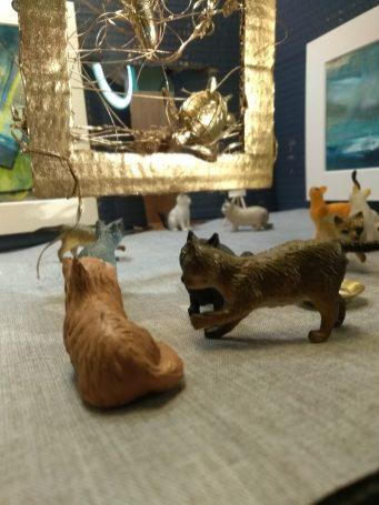 Sally Eldars at the Tiny Cat Gallery