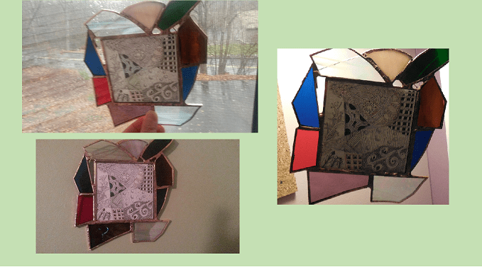 Visit Grandma's Imagination House for more beautiful stain glass creations.