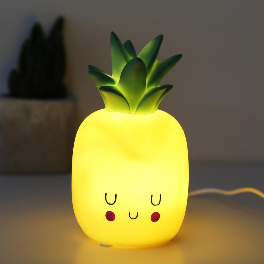 House Of Disaster Hi Kawaii Pineapple Night Light Lisa Angel