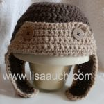 Elizabeth Crochet Hat Pattern For Child : Free Crochet Pattern for Baby Hats ? LisaAuch.com