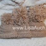 3 Sizes Free Crochet Baby hat pattern