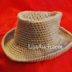 free cowboy baby hat patterns