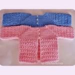 free newborn crochet Cardigan