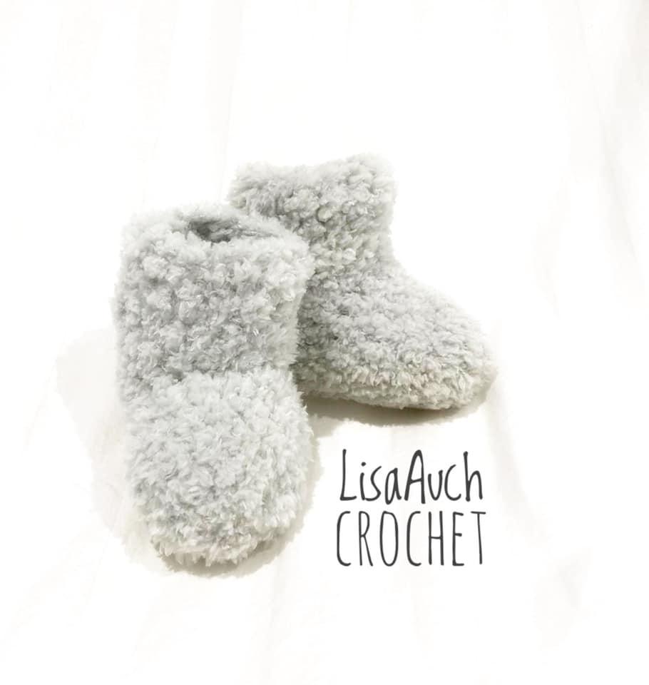 Easy Crochet Baby Booties Pattern Quick