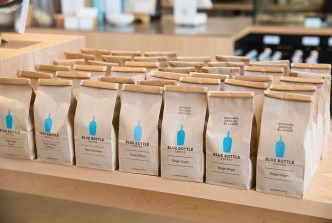 Mechanicals for Blue Bottle Coffee Single Origin and Blend Retail Bags