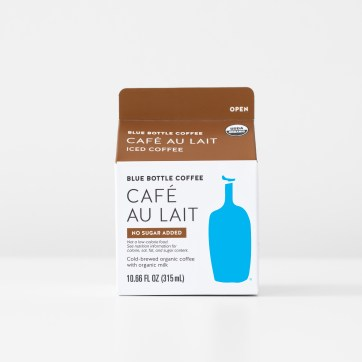 Café Au Lait carton production files