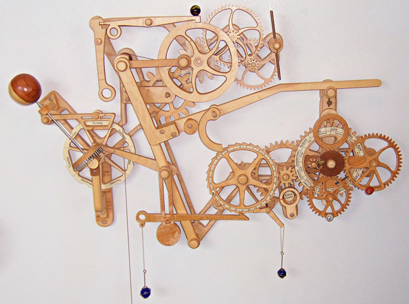 wooden orrery plans