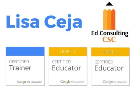 Lisa Ceja - Google Certified Trainer