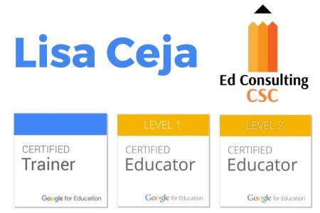 Lisa Ceja - Google Certified Trainer