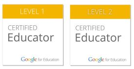 Would you like to become a Google Certified Educator