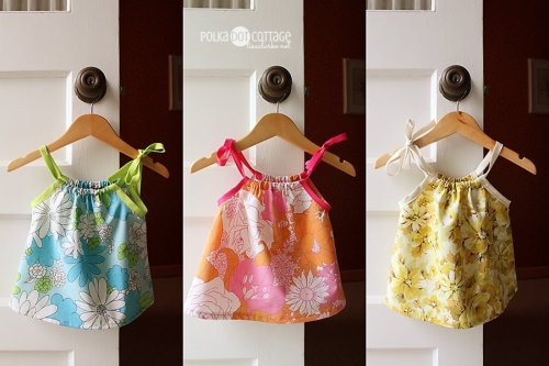 Made By Petchy Baby Dresses made from vintage sheets @lclarke522