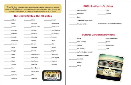 image about Printable License identified as License Plate Video game Printable