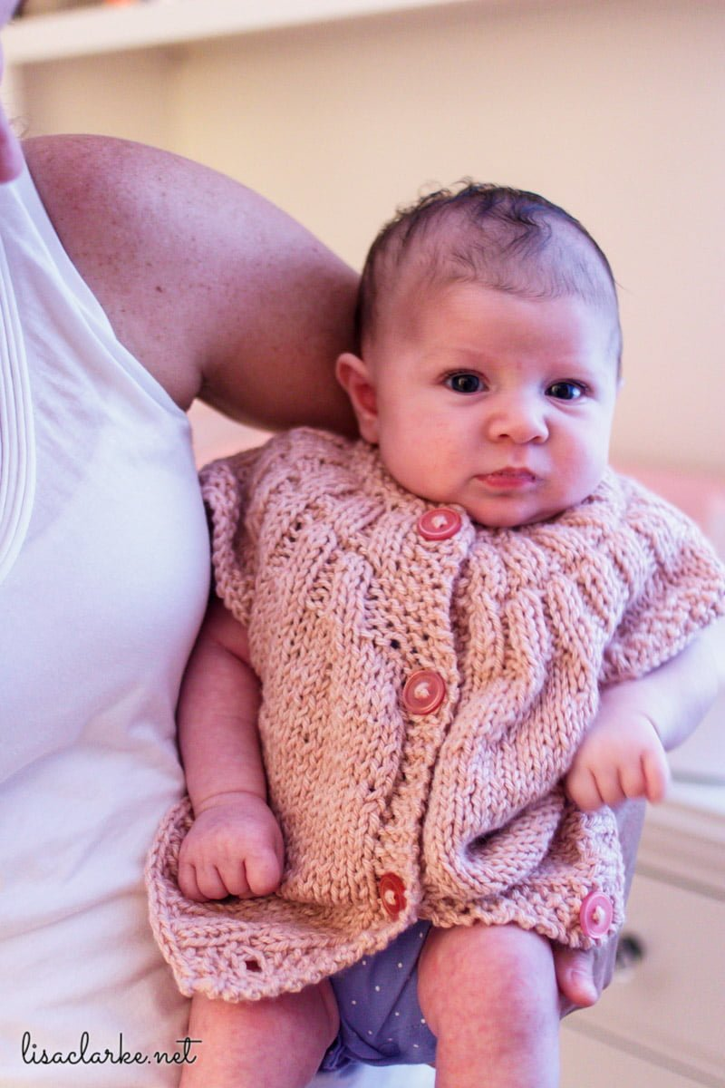 20a0e39ebacca Everyday Baby knitting pattern from Polka Dot Cottage · Four little  top-down sweaters to knit for baby!