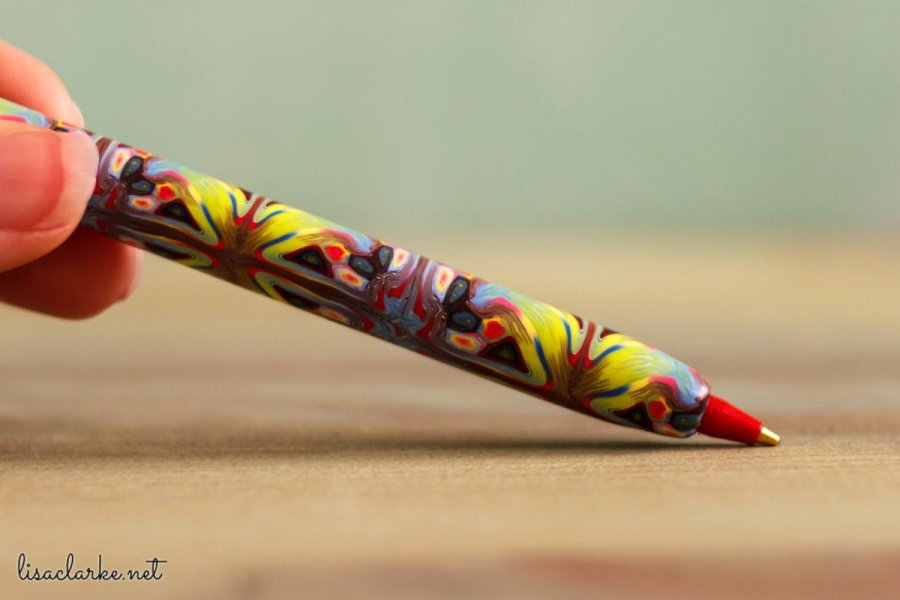Using Polymer Clay Canes to Make Repeating Patterns in Photoshop: Stick Pen
