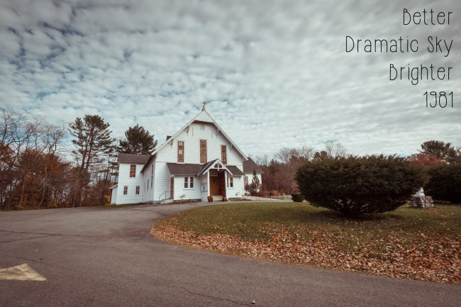 Photoshop Actions and Lightroom Presets: Cairo NY Church - 1981