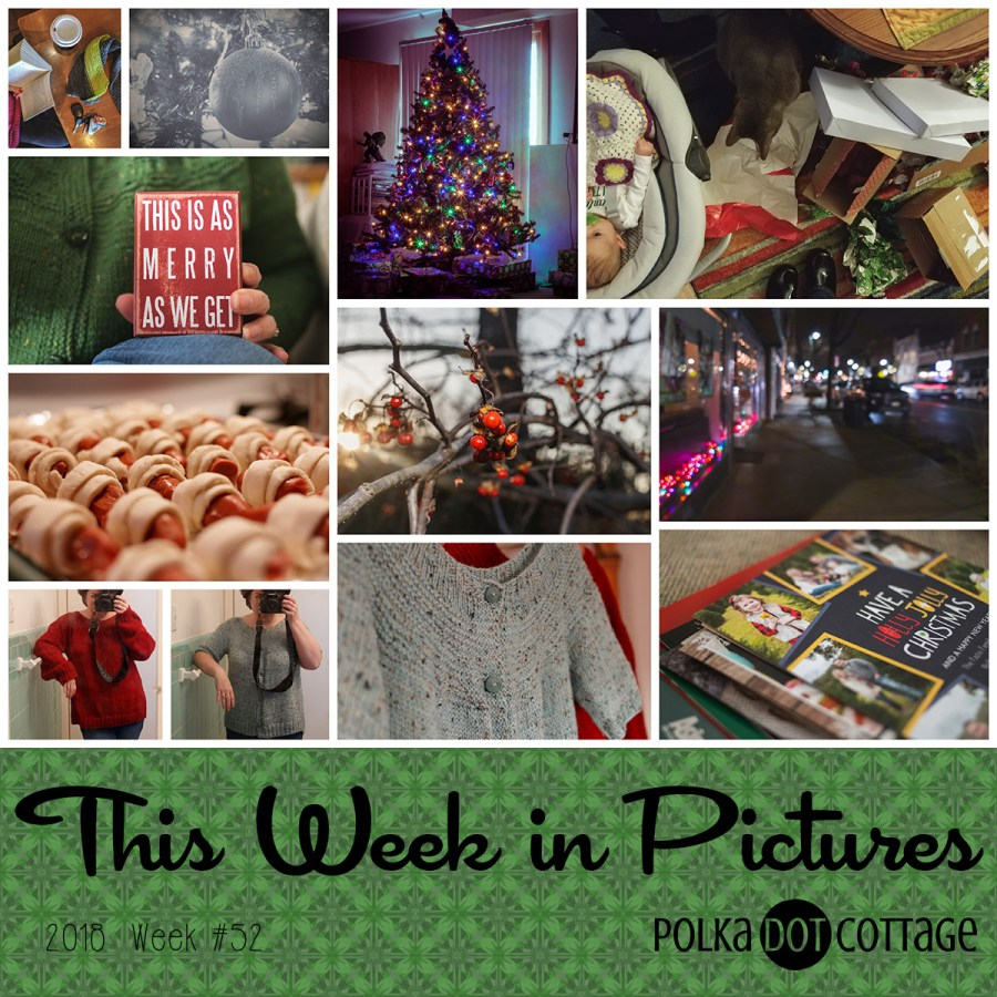 This Week in Pictures, Week 52, 2018