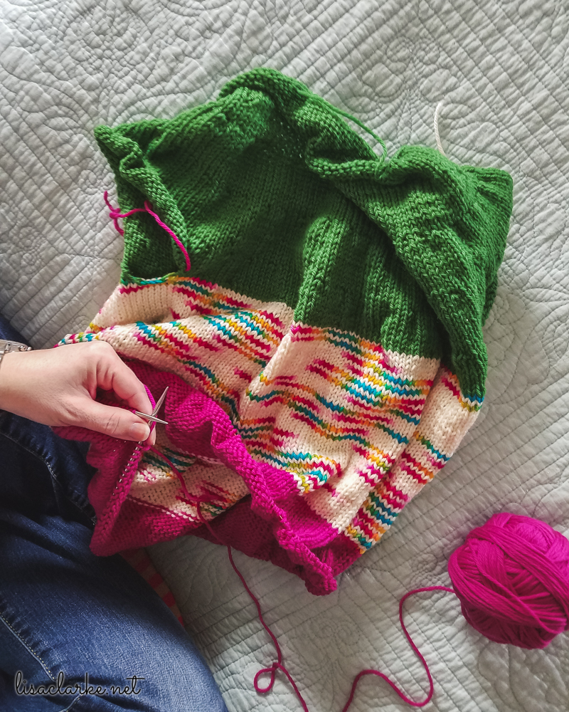 Weekend Sweater in Bold Colors