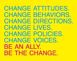Change always starts with you, in your corner of the world
