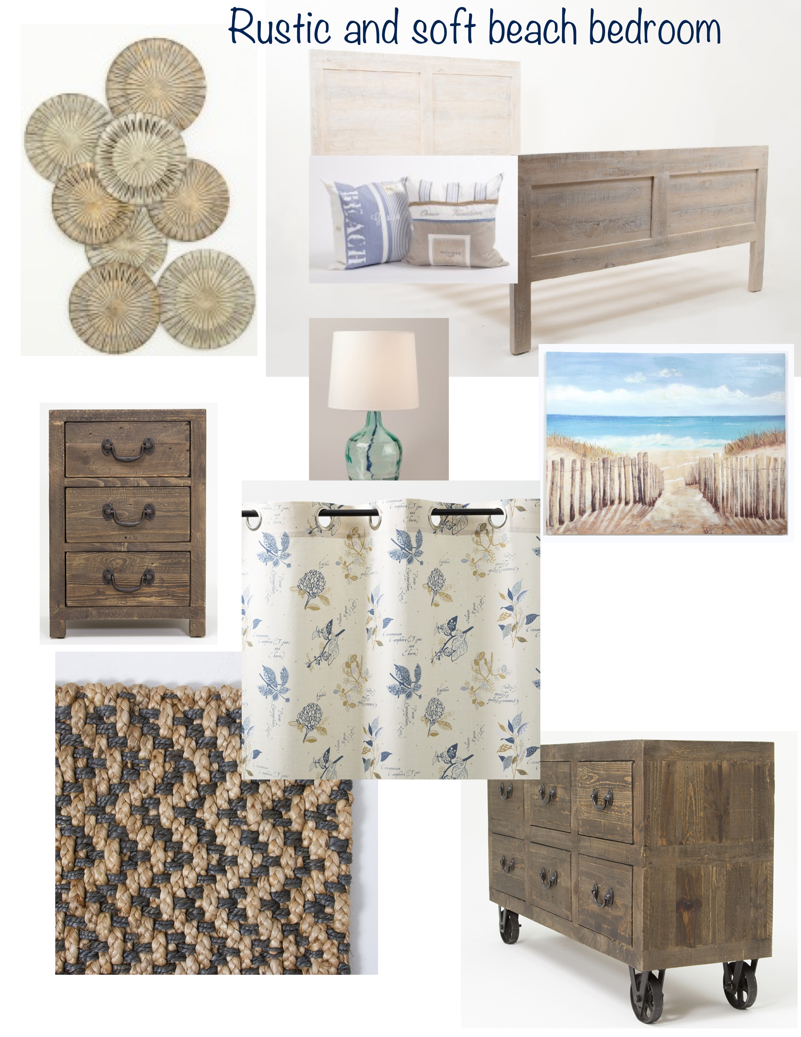 Rustic And Soft Beachy Bedroom Lisa Goulet Design