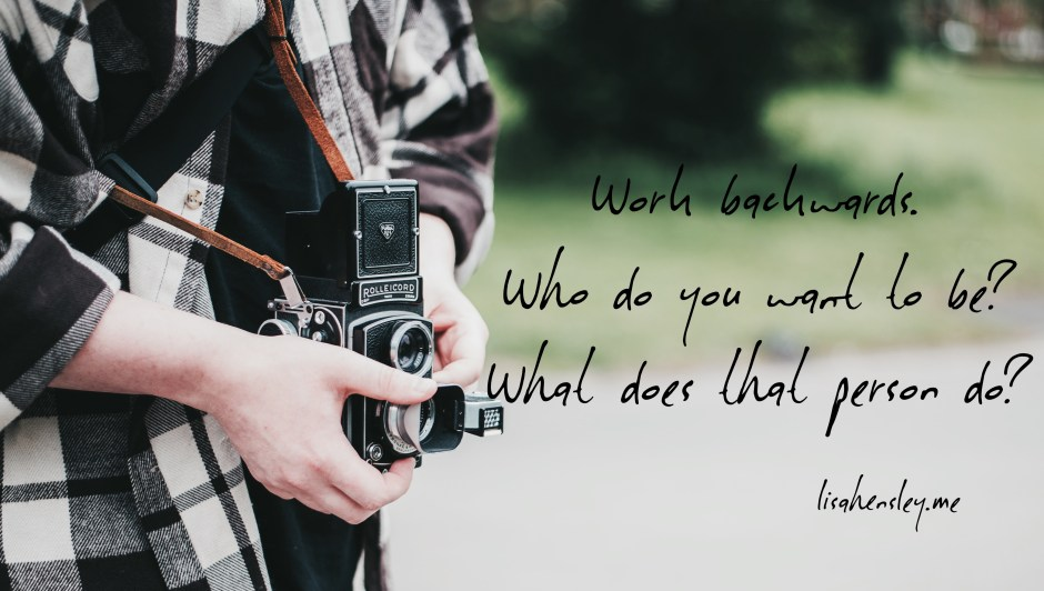 who you want to be quote