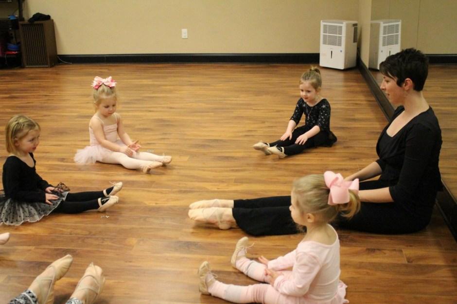 Lindsay teaching