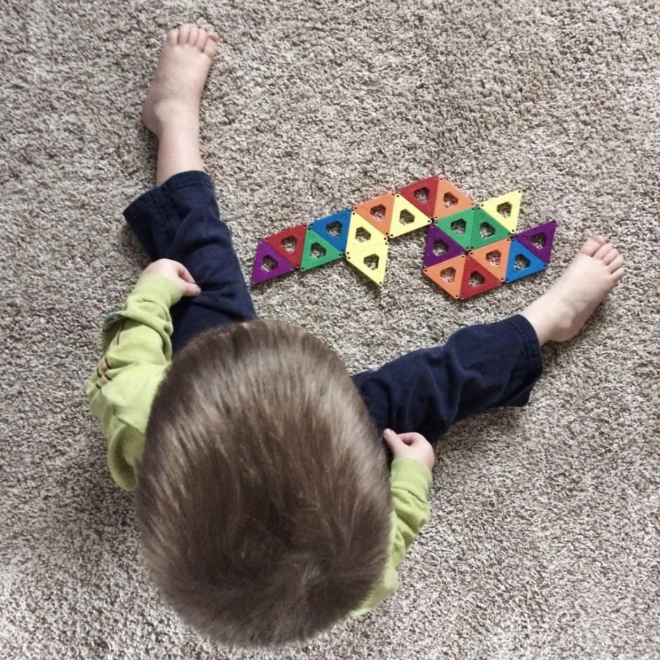 caleb and triangles