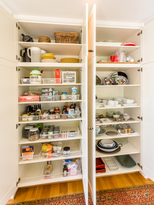 organized food pantry