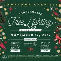 Tree Lighting Downtown Oakville