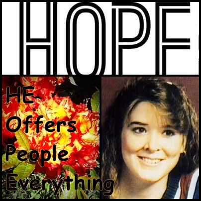 TOP's Tuesday: HOPE...A Necessary Verb - ONE SISTER'S JOURNEY KEEPING IT REAL