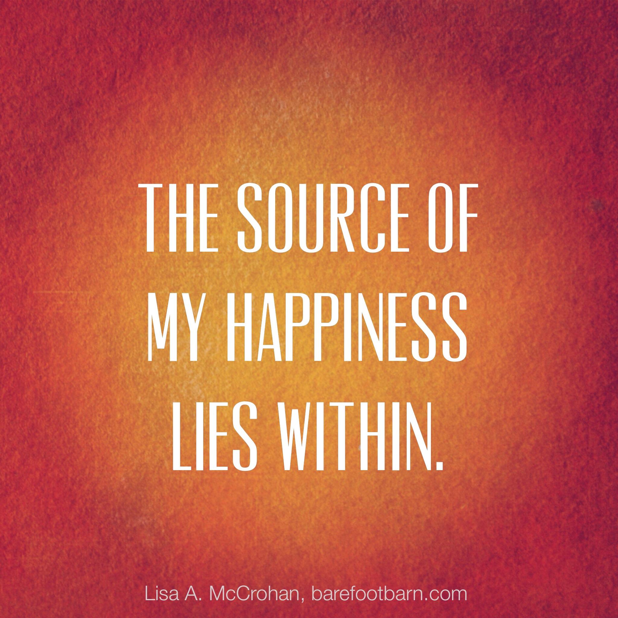 A True Happiness | Lisa McCrohan
