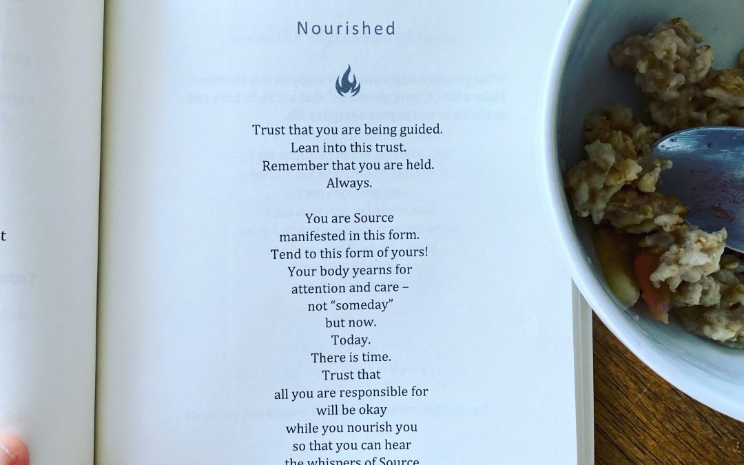 A Simple Way to Be Nourished Right Now
