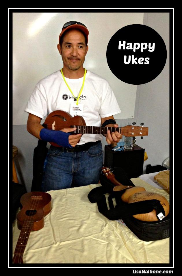 Making Ukulele's talk by Dave Iriguchi post at LisaNalbone.com
