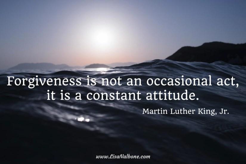 MLK Forgiveness Quote at www.LisaNalbone.com