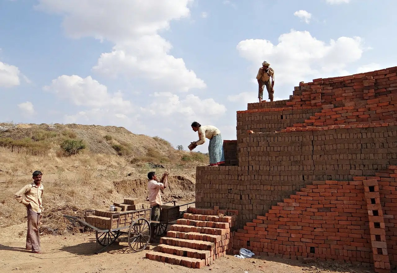 From the Short Stories Series: Three Bricklayers