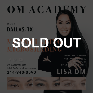 SOLD OUT MICROBLADING TRAINING