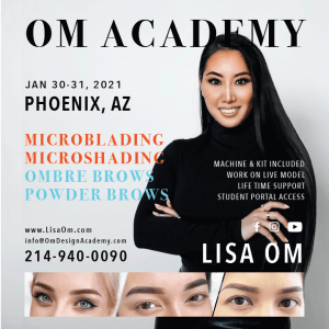 phoenix microblading and ombre powder brows training