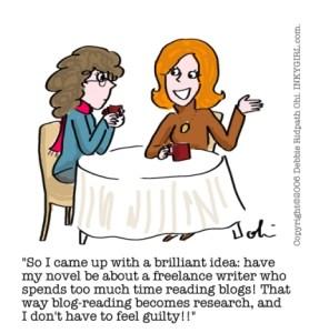 Comic: Blog Reading Justification