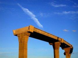photo of unfinished bridge
